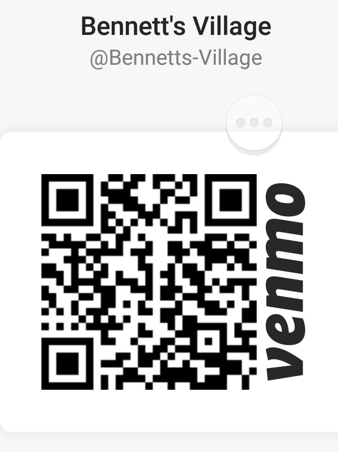 Bennett's Village Venmo Code