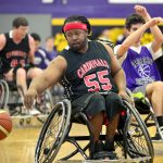 Charlottesville Cardinals playing basketball