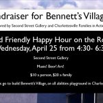 Flyer for the fundraiser (all text repeated on the page)